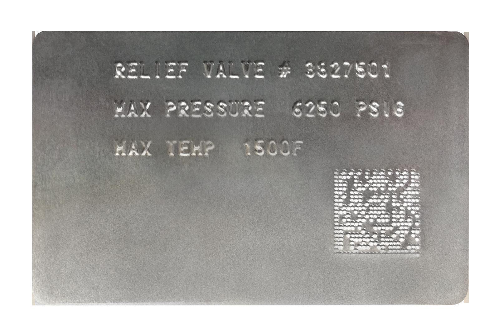2D Data Matrix Plate