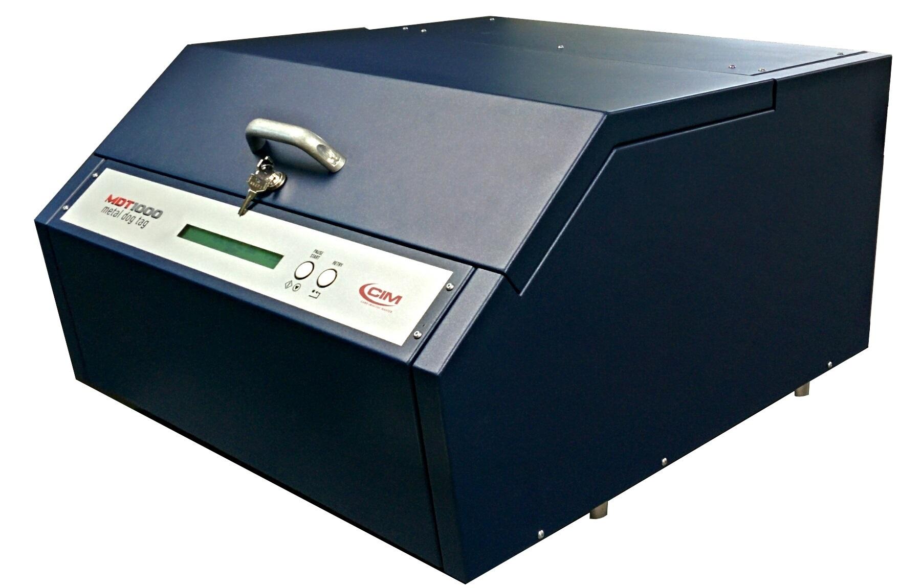 MDT1000 Metal Tag Embossing Machine