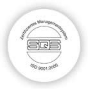 iso certificate logo - embossing machines