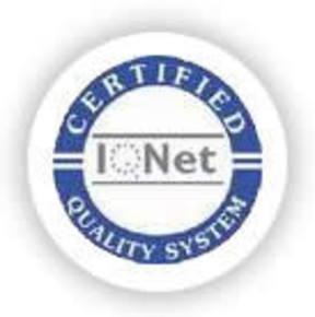 iso9000 certification logo - card embossing